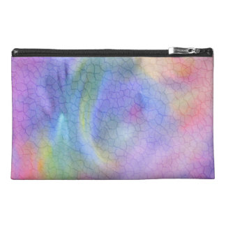 Colorful Cracks Abstract Travel Accessory Bags