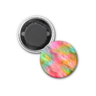 Colorful Crane Flower Wavy Texture Magnet