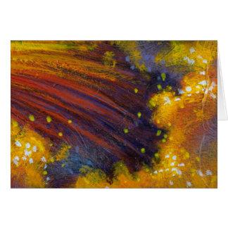 Colorful Crashing Water Greeting Cards
