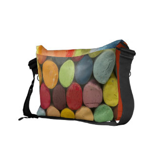 colorful crayons courier bag