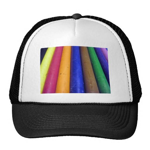 Colorful Crayons Hats