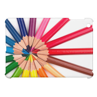 colorful crayons iPad mini cases