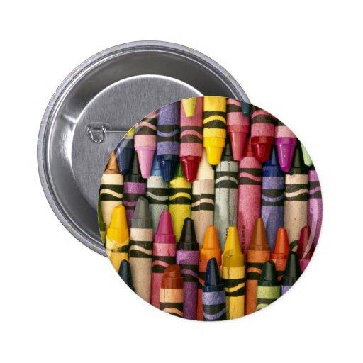 Colorful Crayons Pins