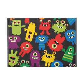 Colorful Crazy Fun Monsters Creatures Pattern Cases For iPad Mini