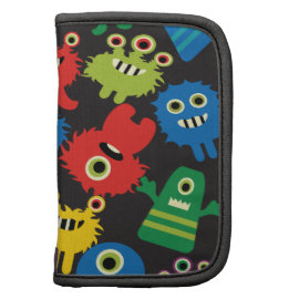 Colorful Crazy Fun Monsters Creatures Pattern Organizer