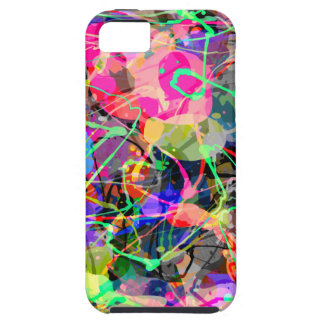 Colorful Creative Chaos iPhone 5 Covers