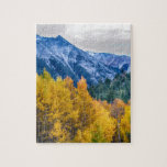 Colorful Crested Butte Colorado Puzzles