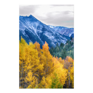 Colorful Crested Butte Colorado Stationery