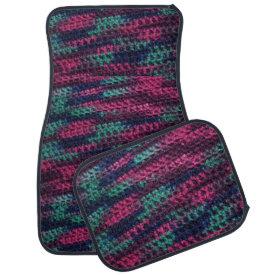 Colorful Crochet Floor Mat