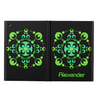 Colorful Crop Circle Geek Personalized iPad Air Cover For iPad Air