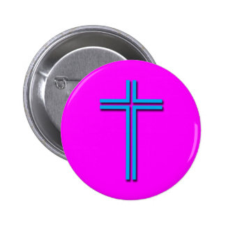 Colorful Cross Button