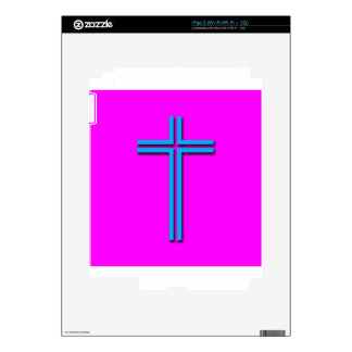 Colorful Cross Decals For The iPad 2