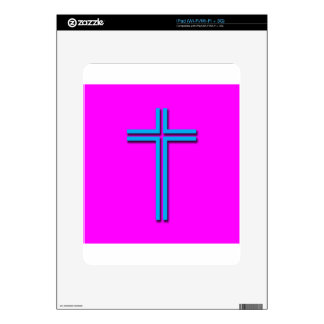 Colorful Cross iPad Decals