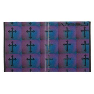 Colorful Cross Ipad Portfolio Case iPad Case
