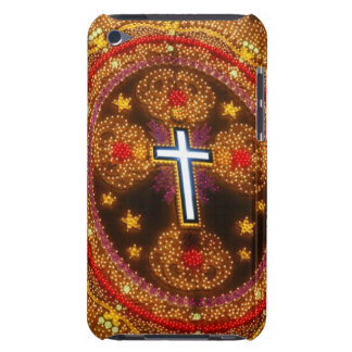 Colorful cross of lights barely there iPod cover