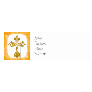 Colorful Crosses Christian Pop Art Business Card Template