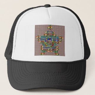 Colorful Crown and Star Shirts by Navinjoshi Trucker Hat