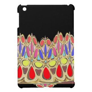 Colorful crown gifts add Greeting Wisdom Quote Case For The iPad Mini