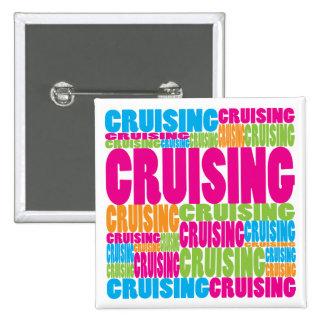 Colorful Cruising Pin