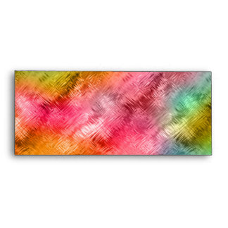 Colorful Crystal Glass Pattern Envelope