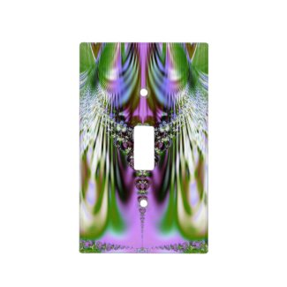 Colorful Crystal Light Switch Plates