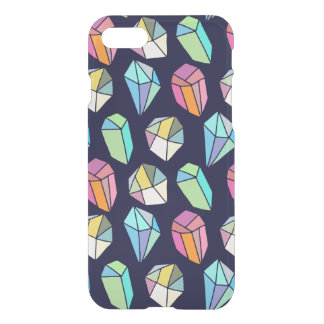 Colorful Crystal Modern Hand Hade Pattern iPhone 7 Case