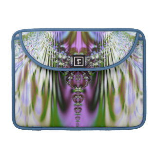 Colorful Crystals Fractal  MacBook Sleeve