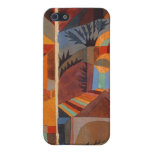 Colorful Cubism Paul Klee Abstract iPhone 5 Cover