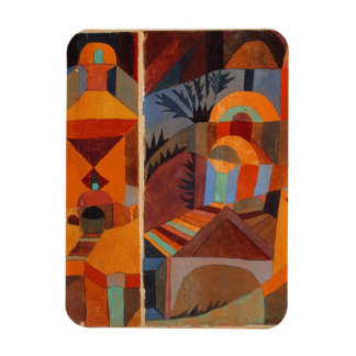 Colorful Cubism Paul Klee Abstract Magnets