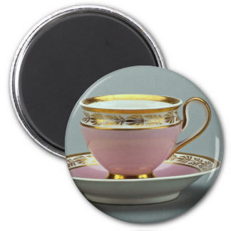 Colorful cup and saucer , Berlin, Germany Magnet