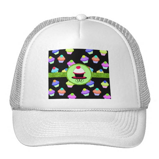 Colorful Cupcake Chaos Trucker Hat