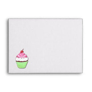Colorful Cupcake Envelope