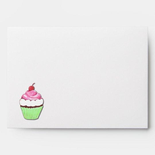 Colorful Cupcake Envelope