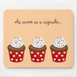 Colorful Cupcake Mouse Pad