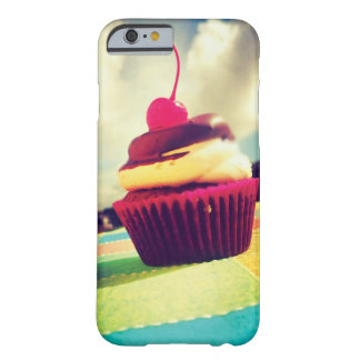 Colorful Cupcake with Cherry on Top Barely There iPhone 6 Case