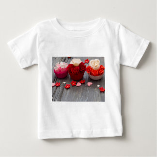 colorful cupcakes baby T-Shirt