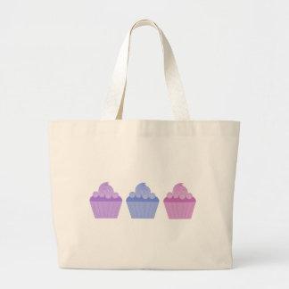 Colorful Cupcakes Jumbo Tote Bag