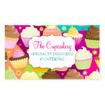 Colorful Cupcakes Double-Sided Standard Business Cards (Pack Of 100)