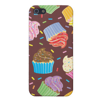 Colorful Cupcakes Cover For iPhone SE/5/5s