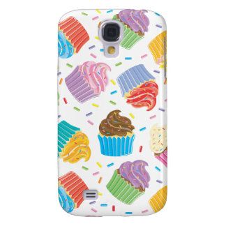 Colorful Cupcakes Galaxy S4 Cover