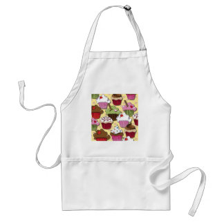 Colorful Cupcakes Gifts Apparel Collectibles Adult Apron