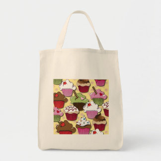 Colorful Cupcakes Gifts Apparel Collectibles Canvas Bag