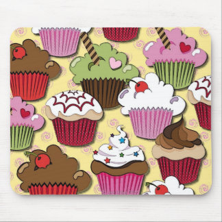 Colorful Cupcakes Gifts Apparel Collectibles Mouse Pad