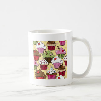 Colorful Cupcakes Gifts Apparel Collectibles Classic White Coffee Mug
