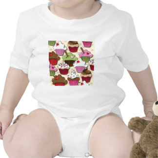 Colorful Cupcakes Gifts Apparel Collectibles Bodysuit