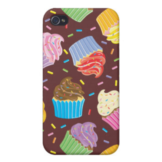 Colorful Cupcakes iPhone 4/4S Cover