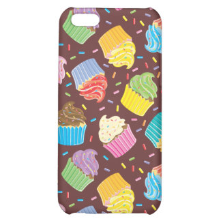Colorful Cupcakes iPhone 5C Covers