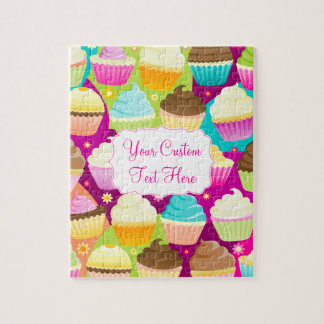 Colorful Cupcakes Jigsaw Puzzle