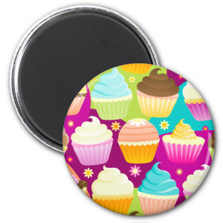 Colorful Cupcakes Magnets