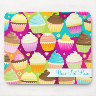 Colorful Cupcakes Mouse Pad